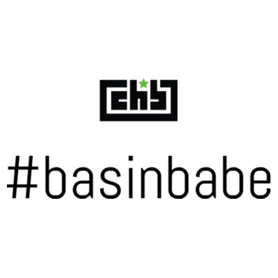 Womens #basinbabe tank (back print) Design