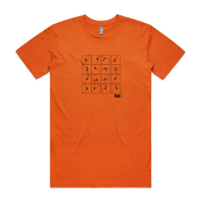 Mens pictogram t-shirt (front print)  Thumbnail